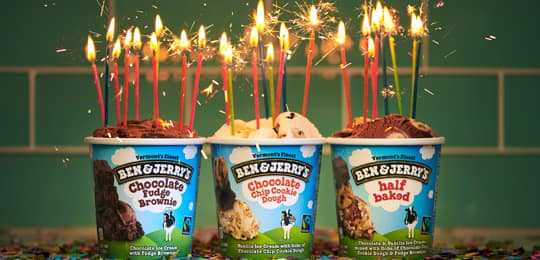 Ben & Jerry's Ice Cream Delivery Has Never Been Easier! - Ice Cream Delivery