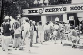 Ben & Jerry's Legendary gas station scoop shop