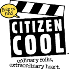 Film clapper reading help us fin Citizen Cool