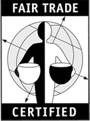 Black and white image for Fair Trade Certified