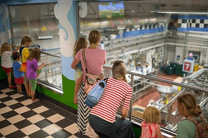 Inside the Ben & Jerry's Waterbury Factory