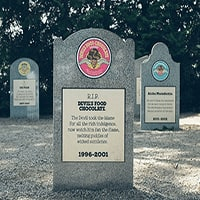 RIP: Ice Cream Mourners Pay their Respects at Ben & Jerry's Flavor Graveyard