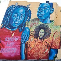 Mural Honoring Colin Kaepernick's Activism Unveiled in Old West Tampa