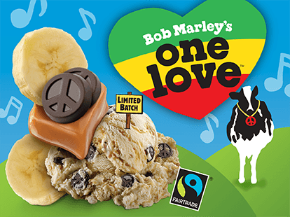 Bob Marley's One Love Ice Cream