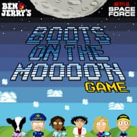 Play The Boots On The Moooo'n 8-Bit Arcade Game, Top-10 Scores Win Prizes!