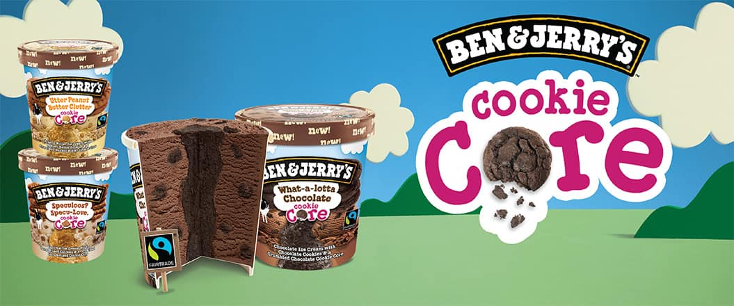 Ben & Jerry's Cookie Cores