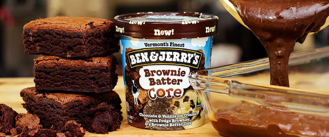 Ben & Jerry's Brownie Batter Core Ice Cream