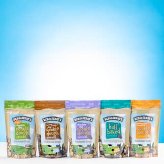 A Bag of each one of Ben & Jerry's Chunks