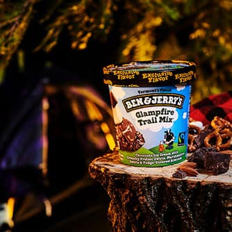 Glampfire Trail Mix Ice Cream