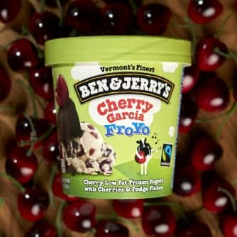 Cherry Garcia Frozen Yogurt