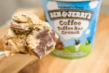 Coffee Toffee Bar Crunch Ice Cream
