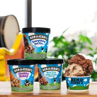 everything but the ice cream | ben & jerry's