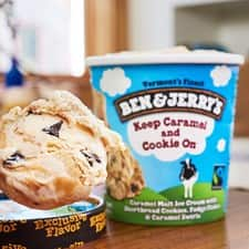 Keep Caramel and Cookie On Ice Cream