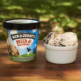 Milk and Cookies Ice Cream