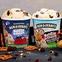 Netflix Original Ben & Jerry's Ice Cream Pints