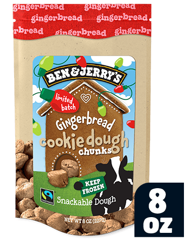 Gingerbread Cookie Dough Bag