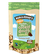 Vegan Chocolate Chip Cookie Dough Bag