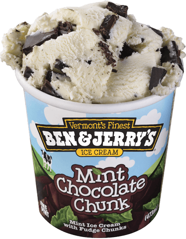 Mint Chocolate Chunk Ice Cream | Ben & Jerry's