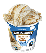Banana Peanut Butter Greek Frozen Yogurt