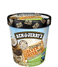 Coconut Seven Layer Bar Non-Dairy Frozen Dessert