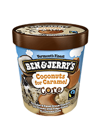 Coconuts for Caramel Core Pint