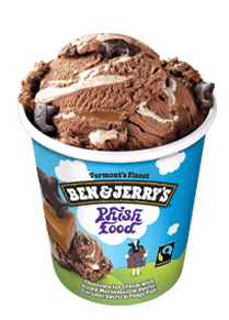 A Pint of Ben & Jerry's Phish food Ice Cream
