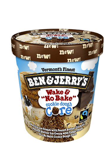 Wake And No Bake Cookie Dough Core Ben Jerry S