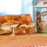 Recipe: Ben & Jerry's Bacon Breakfast Sandwich