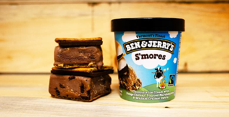 Ben & Jerry's - S'mores Ice Cream Sandwich Recipe