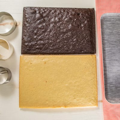 Step 1 Baked cakes