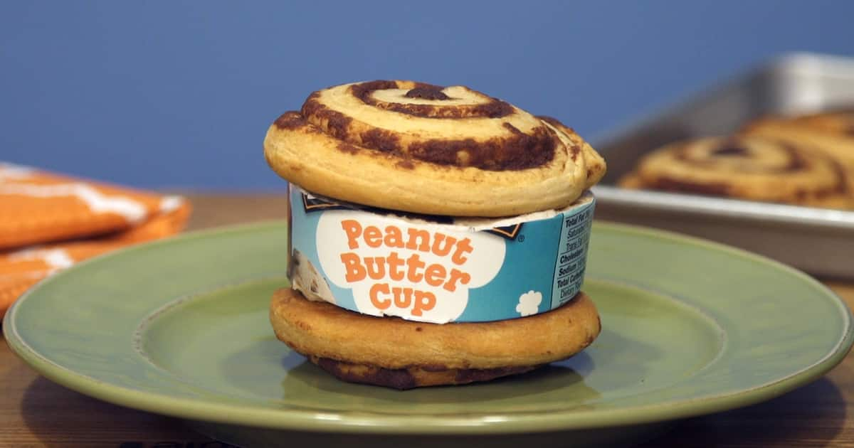 Cinnamon Roll Ice Cream Sandwiches Ben Amp Jerry S
