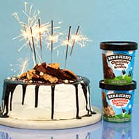 Recipe: Firecracker Ice Cream Cake