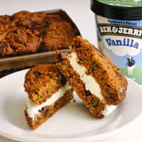 Recipe: Pumpkin Bread Ice Cream Sandwich
