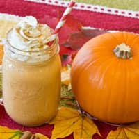 Maple Pumpkin Pie Milkshake