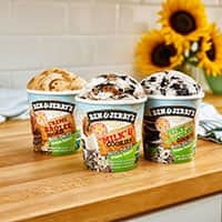 Ben & Jerry's launches new sunflower butter-based flavors