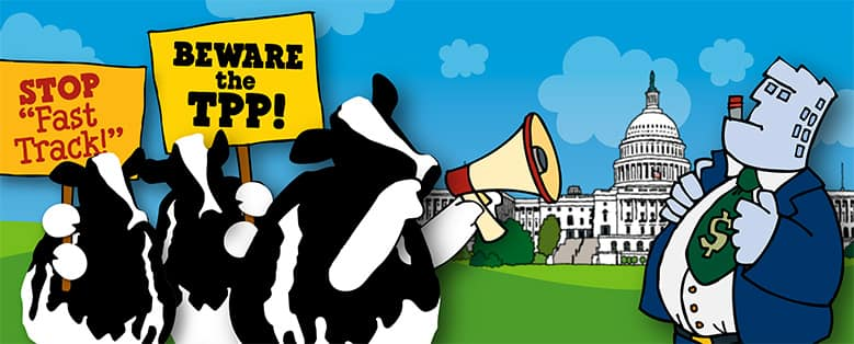 TPP Equals Climate Meltdown - Ben & Jerry's