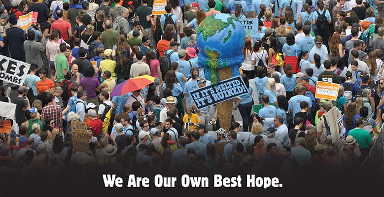 Ben & Jerry's Climate Marchers