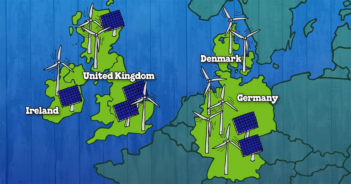 European Countries Leading the Way Towards Clean Energy
