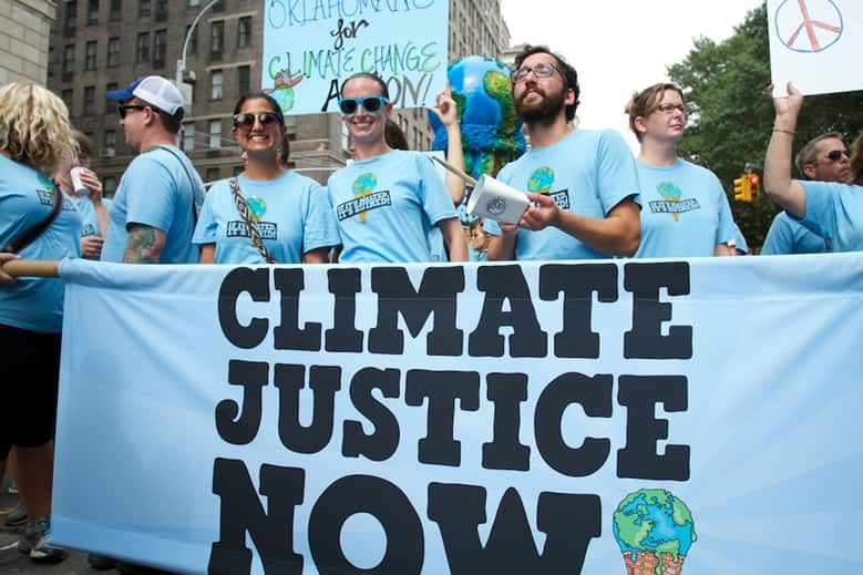 Ben & Jerry's join the Climate March