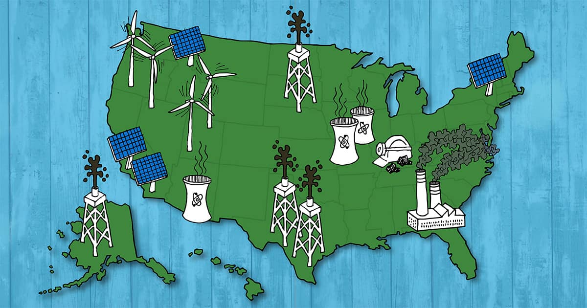 United States Renewable Energy Map - Ben & Jerry's