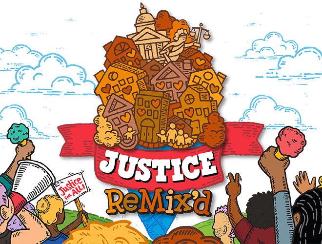header image for Ben & Jerry's Justice ReMix'd campaign for criminal justice reform