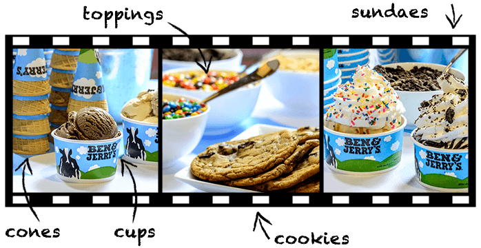 Ben & Jerry's Catering Options