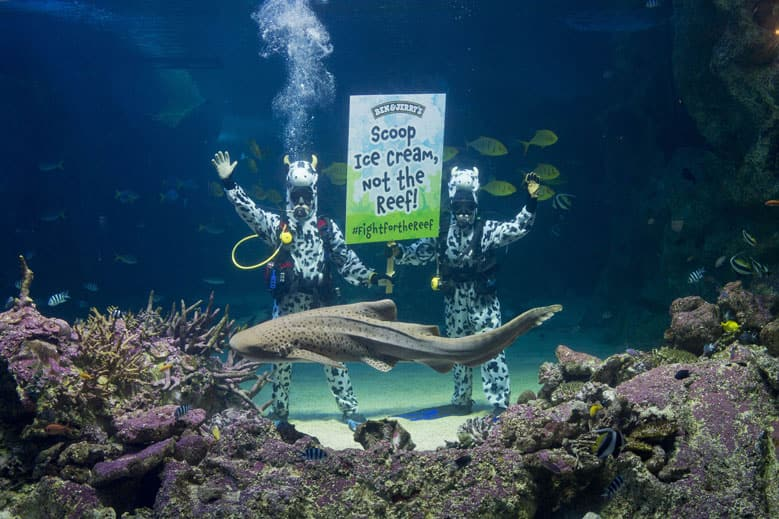 Ben & Jerry's fights to save Great Barrier Reef