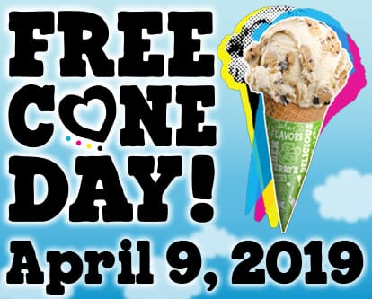 Free Cone Day Banner