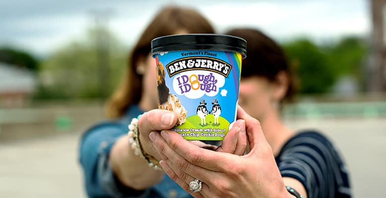 Ben & Jerry's I Dough I Dough for Marriage Equality