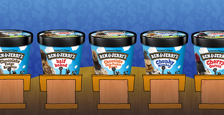 Ben & Jerry's - Flavors as Candidates