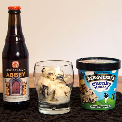 Abbey Belgian-Style with Chunky Monkey