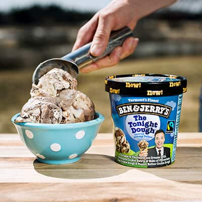 Ben & Jerry's Flavor Relationships - The Tonight Dough