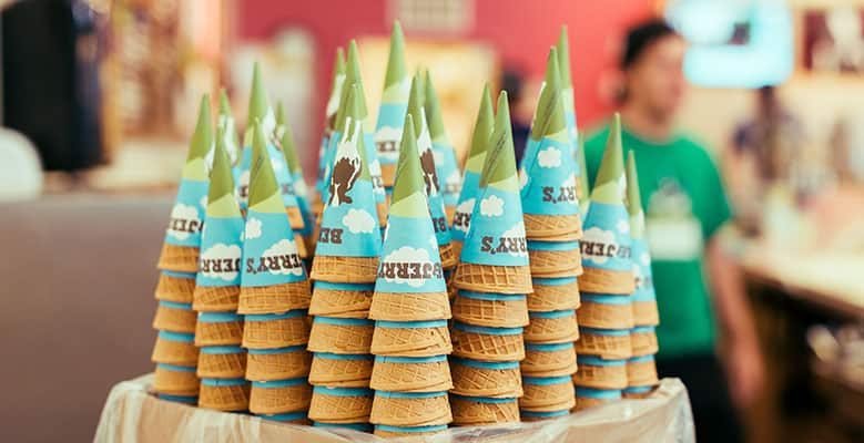Ben & Jerry's Free Cone Day - Leave the cooking to us