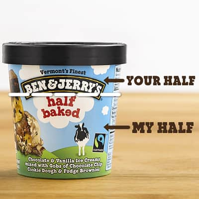 Do you worry about sharing a pint of Ben & Jerry's ice cream?